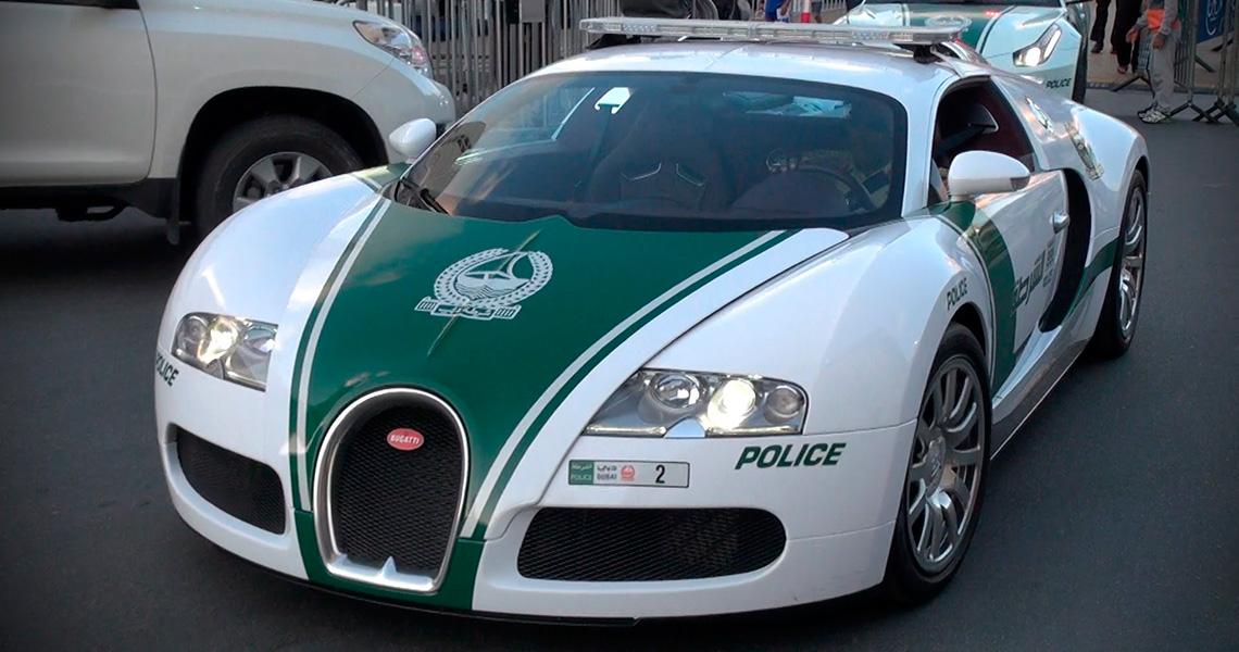 Dubais Vilde Politibiler Vild Med Biler