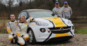 Opel rallytalenter under pres