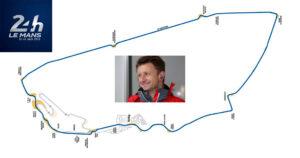 Allan McNish rundt på Le Mans