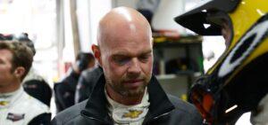 Jan Magnussen ude af Le Mans 2015
