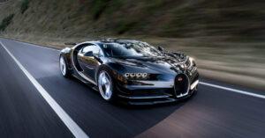 Vild pris for lakering af Bugatti Chiron