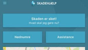 Skadehjælp app